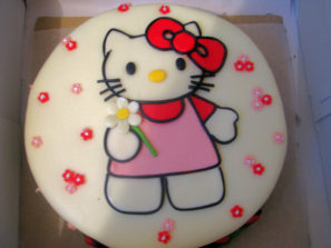 Dětský dort Kitty