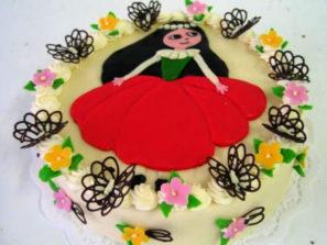 Dětský dort Maková panenka