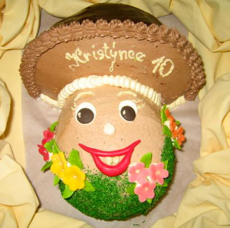 Dětský dort Hříbek
