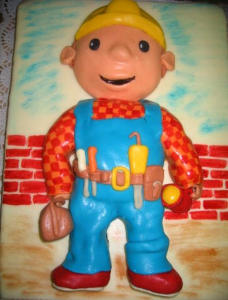 Dětský dort Stavař