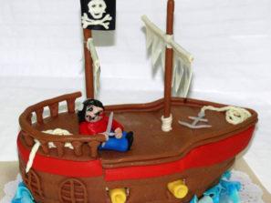 Dětský dort Piráti