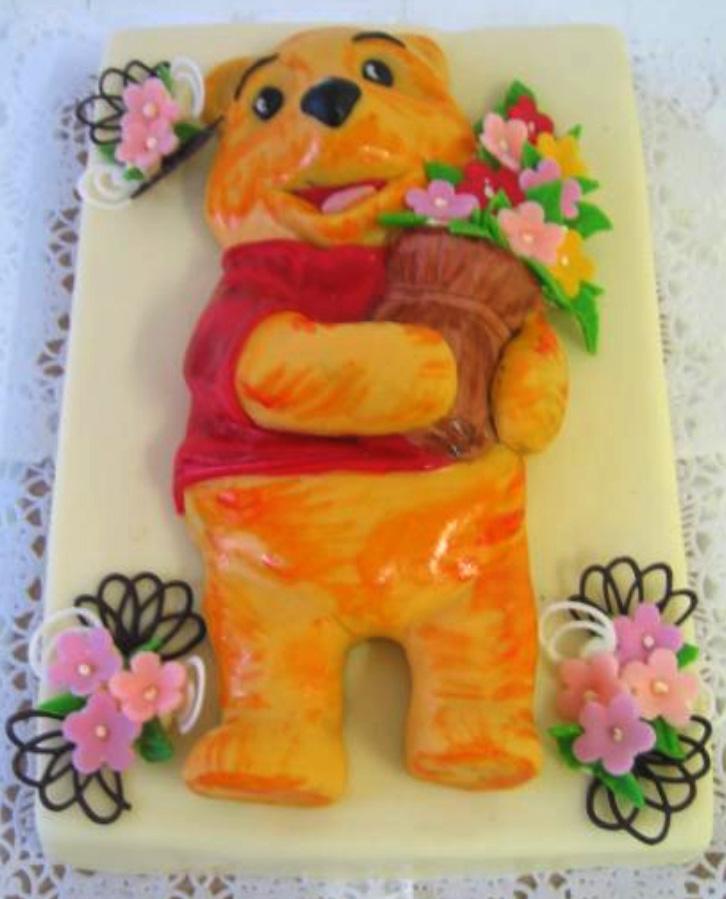 Dětský dort Medvídek Pu