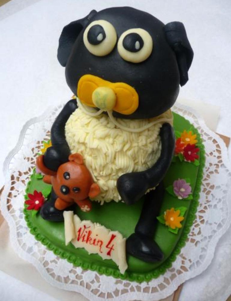 Dětský dort Ovečka Shaun