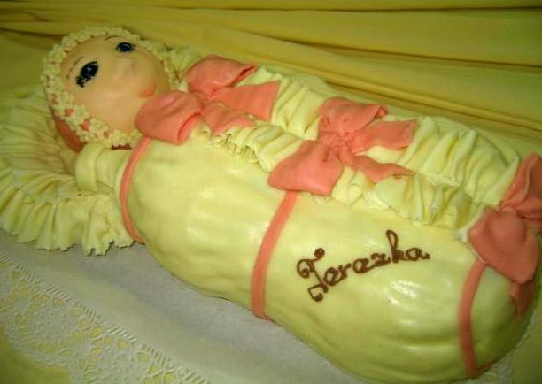 Dětský dort Miminko