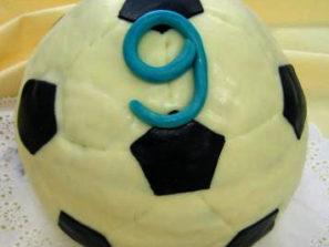 Dětský dort Kopací míč