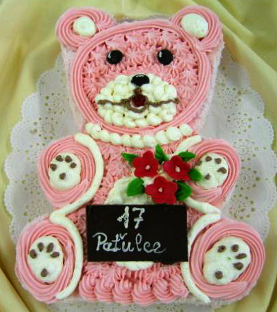 Dětský dort Méďa