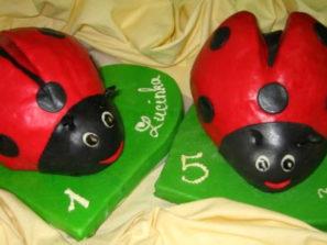 Dětský dort Berušky