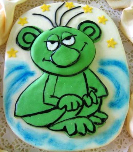 Dětský dort Rákosníček
