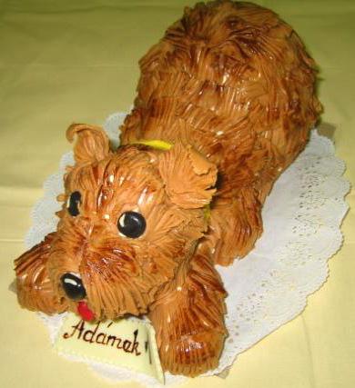 Dětský dort Pes