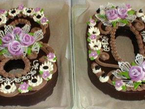 Klasický dort Osmdesát