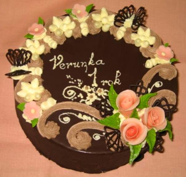 Klasický dort Verunka