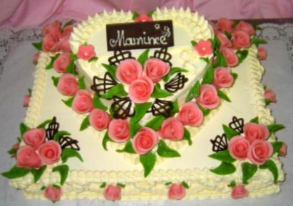 Klasický dort Mamince