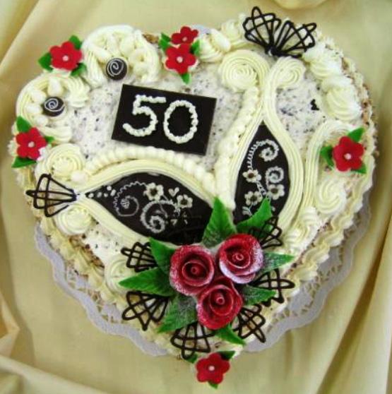 Klasický dort Padesátka