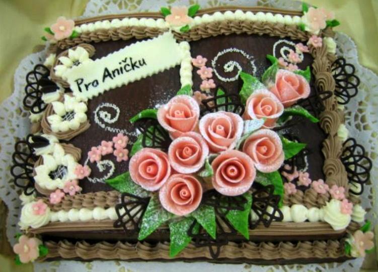 Klasický dort Pro Aničku