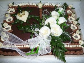Svatební dort - čoko kniha