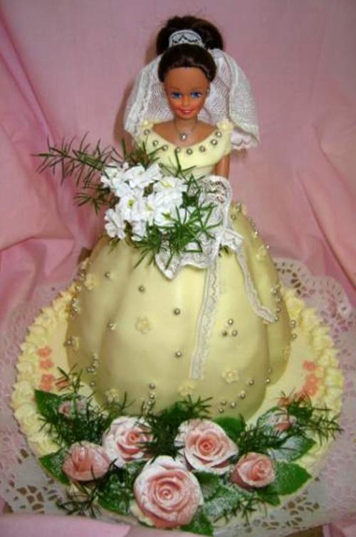 Svatební dort - nevěsta