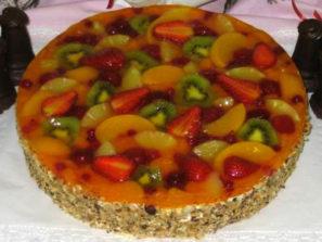 Ovocný dort Směs