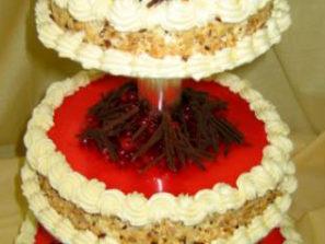 Ovocný dort Třípatrový směs