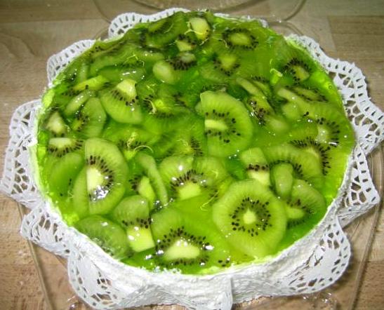 Ovocný dort Kiwi