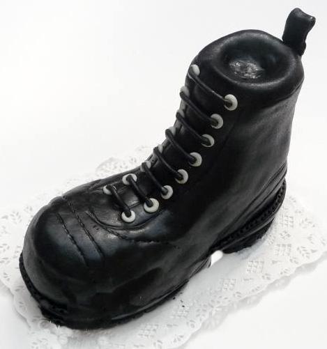 Dort speciální - černá bota