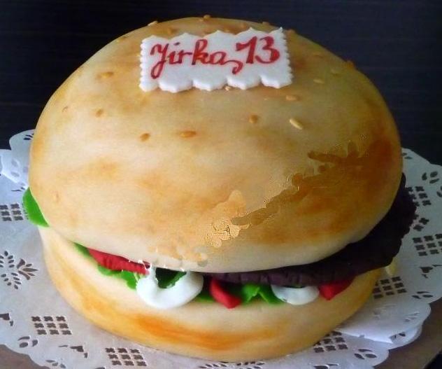 Dort speciální - hamburger