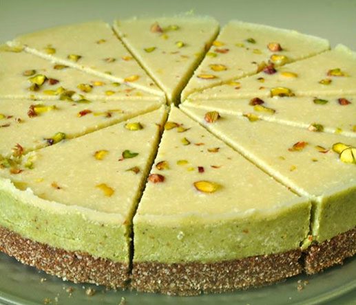 R-1071 Raw pistáciový dort