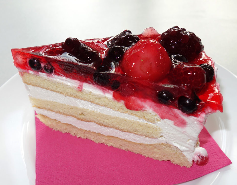 ZK-036 Jogurtový dort, řez