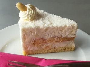 BZ-002 Bezlepkový kokosový dort, řez