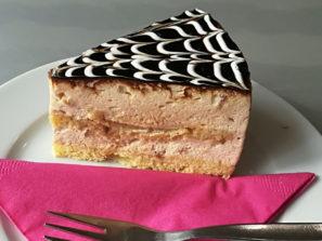 BZ-004 Bezlepkový karamelový dort, řez