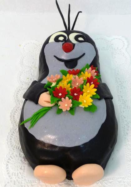 Dětský dort Krteček