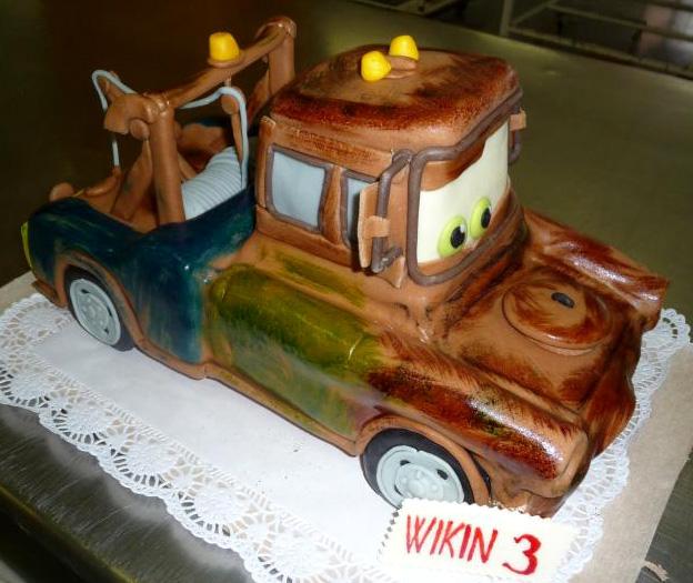 Dětský dort Auto