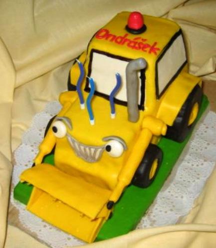 Dětský dort Dozer