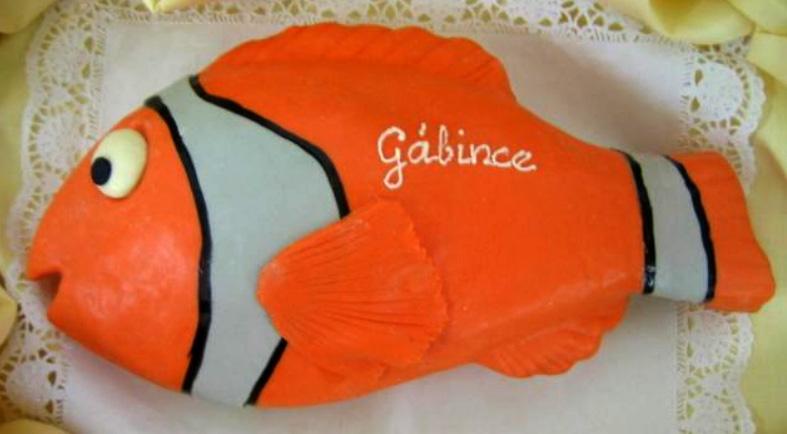 Dětský dort Nemo