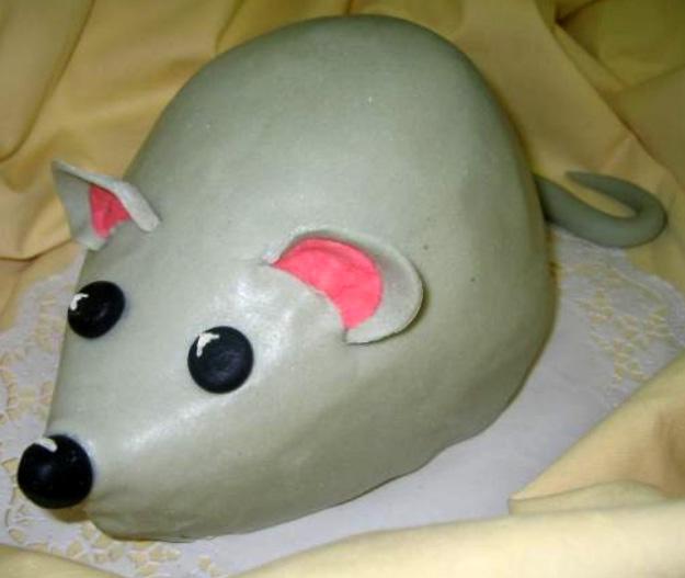 Dětský dort Myš