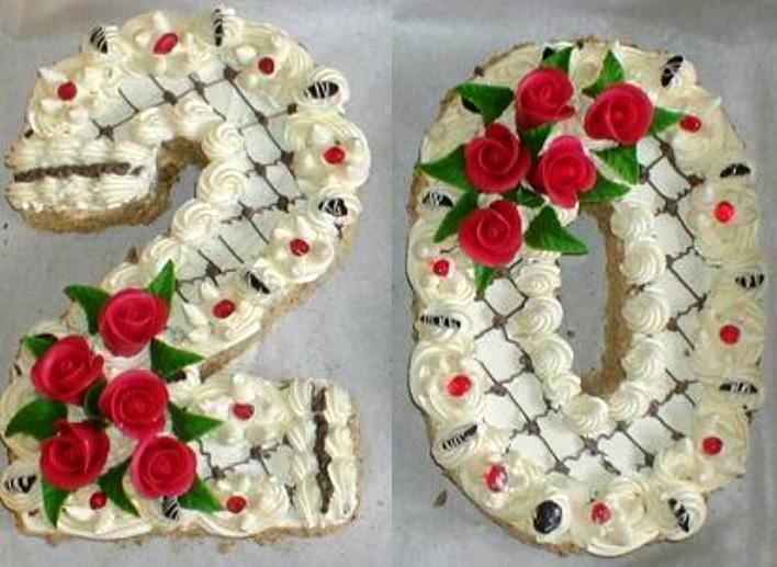 Klasický dort Dvacet