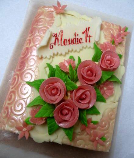 Klasický dort Klaudie