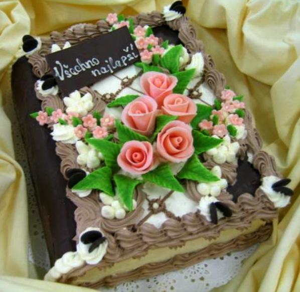 Klasický dort Kniha