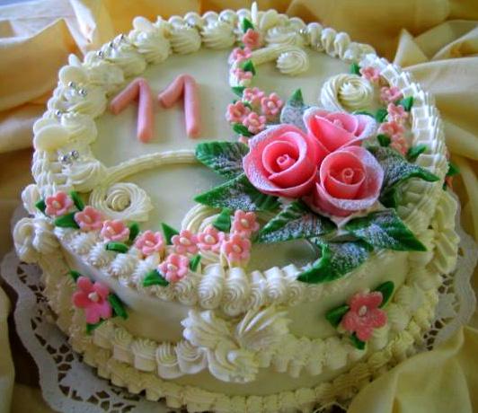 Klasický dort Jedenáct
