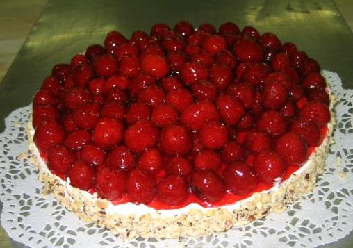 Ovocný dort Třešně