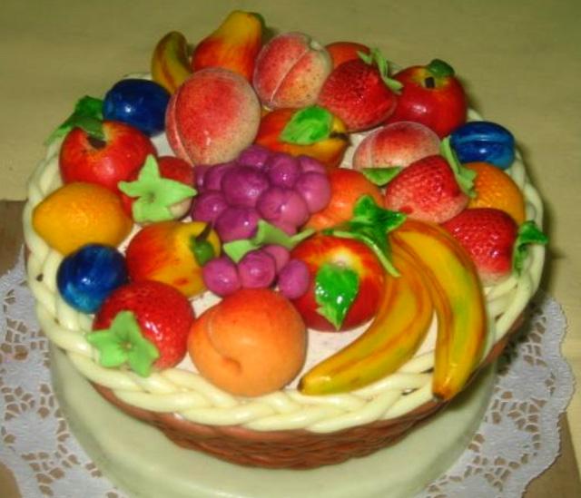 Dort speciální - misa ovoce