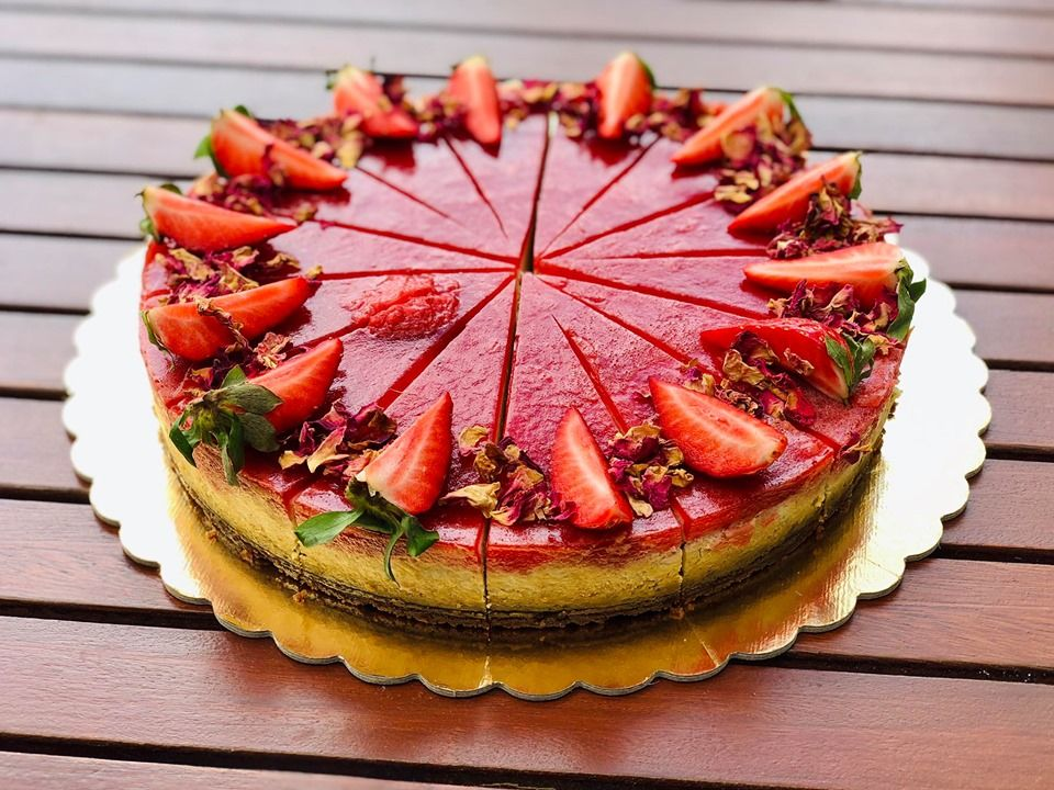 CH07-Jahodový cheesecake