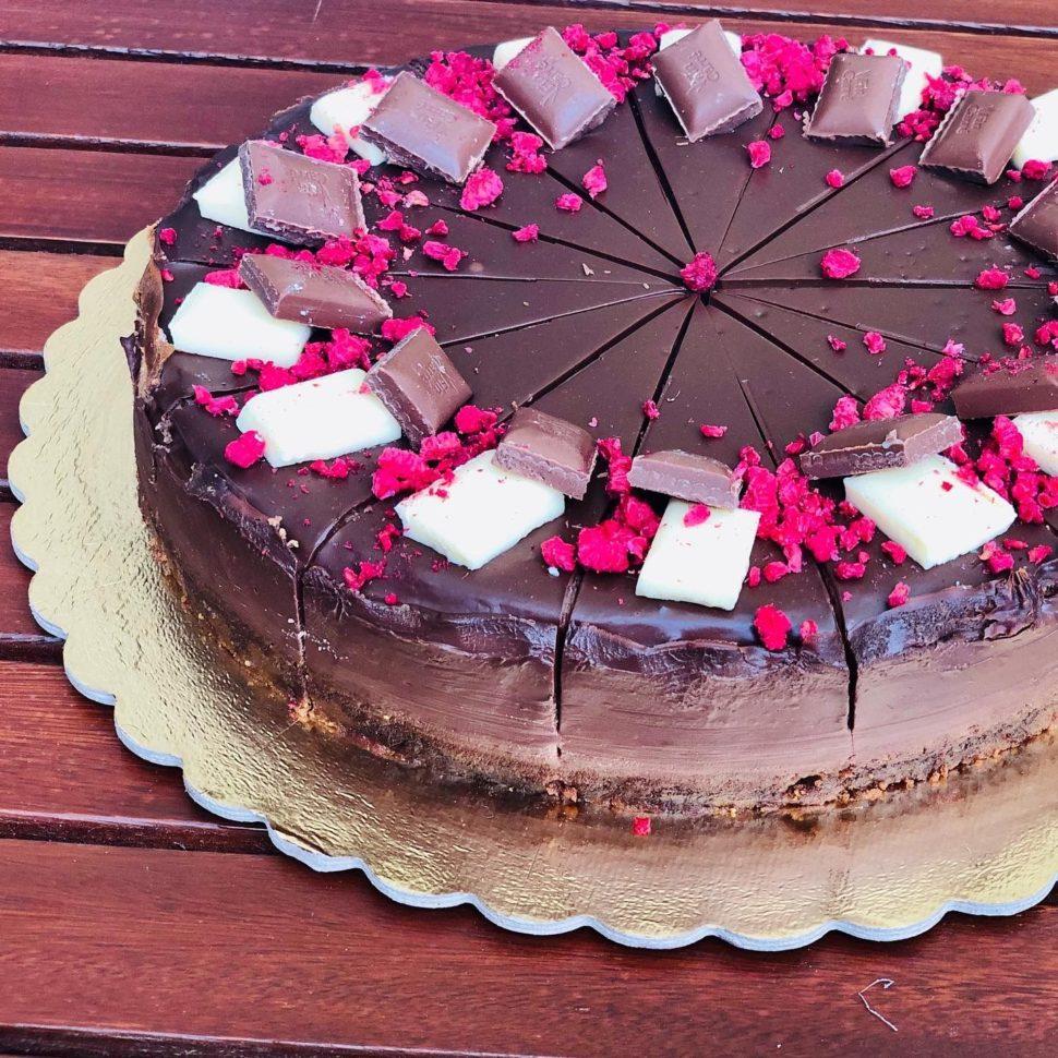 CH12-Čokoládový cheesecake