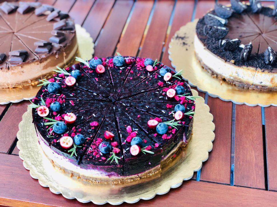 CH15-Cheesecake borůvka alevandule